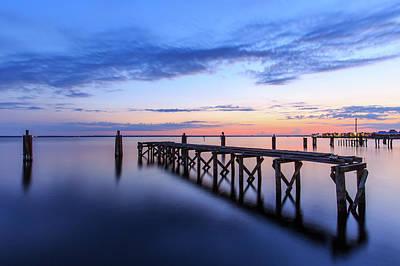 Florida Nature Photograph - Lake Monroe At Twilight by Stefan Mazzola