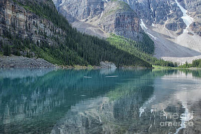 Photograph - Lake Moraine by Patricia Hofmeester