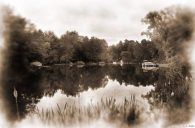 Photograph - Lake Morris by Lauren Radke