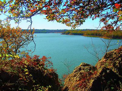Photograph - Lake Murray In The Fall - Oklahoma by Robert J Sadler
