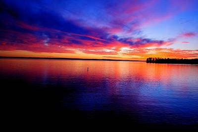 Photograph - Lake Murray Sunset 21 by Joseph C Hinson Photography