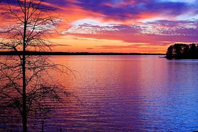 Photograph - Lake Murray Sunset 22 by Joseph C Hinson Photography