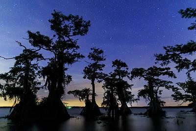 Photograph - Lake Night Sky by Stefan Mazzola