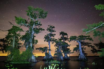 Photograph - Lake Nightscape by Stefan Mazzola