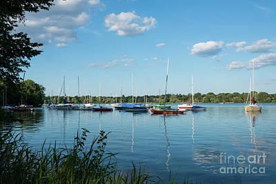 Lake Nokomis Minneapolis City Of Lakes Art Print