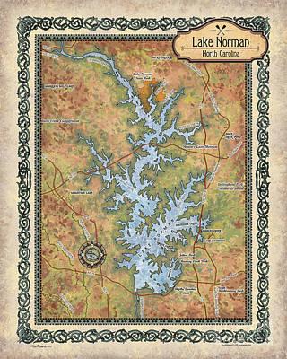 Painting - Lake Norman by Lisa Middleton