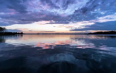 Photograph - Lake Norman, North Carolina Sunset by Serge Skiba