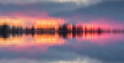 Photograph - Lake Norman Sunset by Ronald Santini