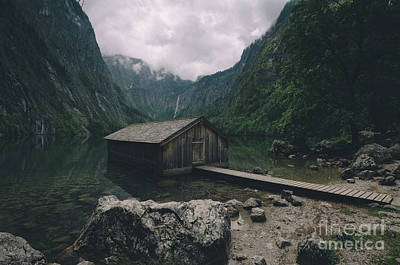 Photograph - Lake Obersee by JR Photography