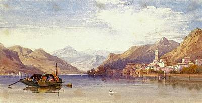 Bellagio Painting - Lake Of Como by MotionAge Designs
