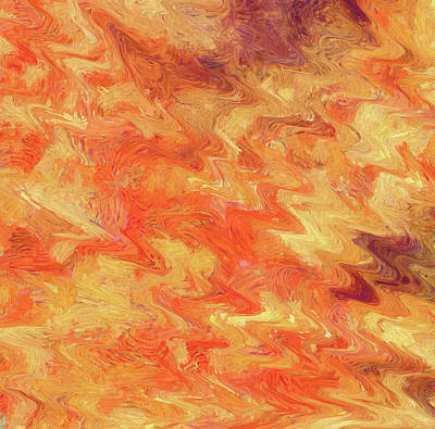 Painting - Lake Of Fire by Dan Sproul