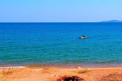 Photograph - Lake Of Malawi 02 by Dora Hathazi Mendes