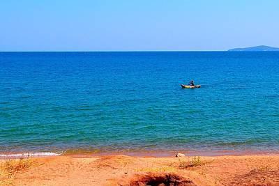 Photograph - Lake Of Malawi 02 by Dora Hathazi Mendes