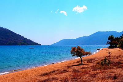 Photograph - Lake Of Malawi 04 by Dora Hathazi Mendes