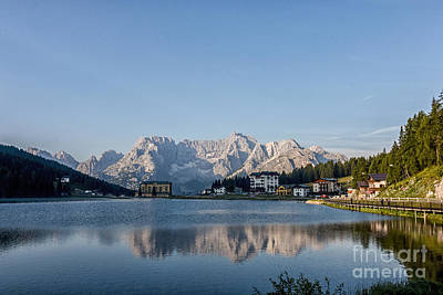 Photograph - Lake Of Misurina by Pietro Ebner