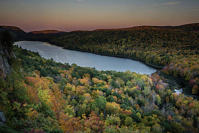 Photograph - Lake Of The Clouds by William Christiansen