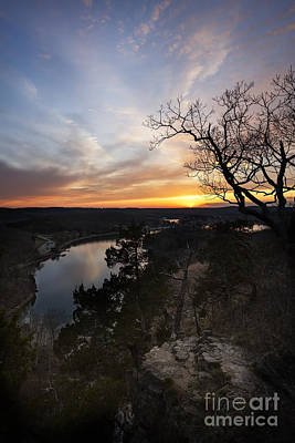 Photograph - Lake Of The Ozarks Sunset by Dennis Hedberg