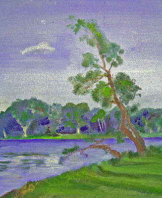 Painting - Lake Of The Sorrowful Tree by Paul Thompson