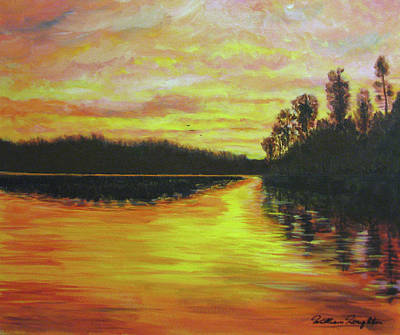 Painting - Lake Of The Woods-canada by Bill Houghton