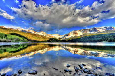 Photograph - Lake Of Time by Scott Mahon