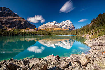 Photograph - Lake O'hara Daydream by Pierre Leclerc Photography