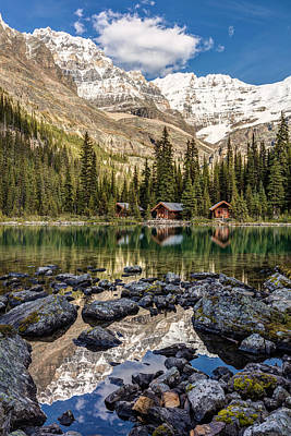 Photograph - Lake O'hara Lodge by Pierre Leclerc Photography