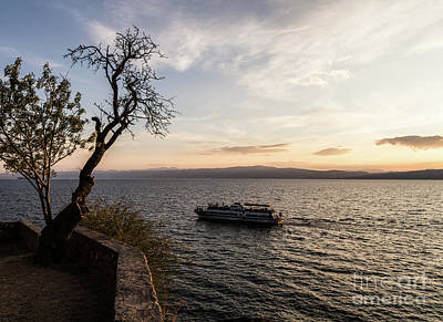 Photograph - lake Ohrid in Macedonia by Didier Marti