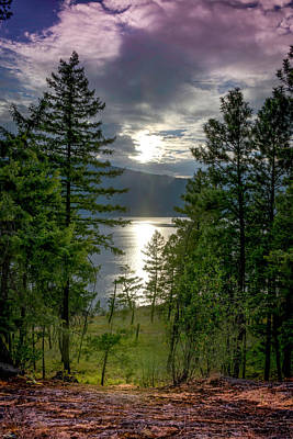 Photograph - Lake Okanagan by Philip Rispin