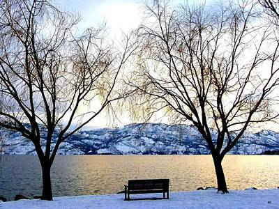 Kelowna Photograph - Lake Okanagan Solitude by Will Borden