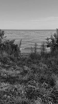 Photograph - Lake Ontario B W 5 by Rob Hans