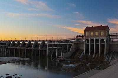 Photograph - Lake Overholser Dam by Jonas Wingfield