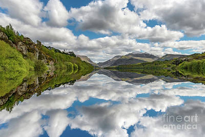 Photograph - Lake Padarn Snowdonia by Adrian Evans