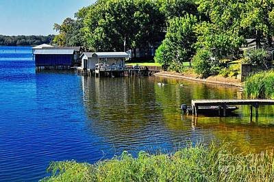 Photograph - Lake Palestine by Diana Mary Sharpton