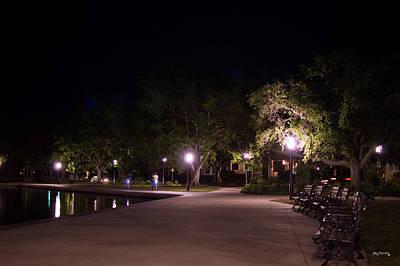 Photograph - Lake Park Charleston South Carolina  by Ken Figurski