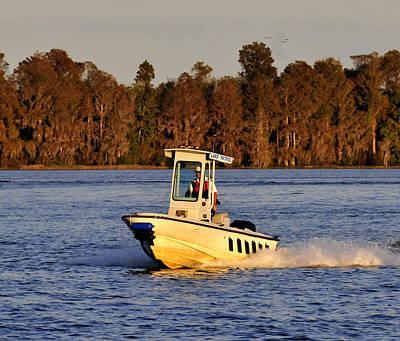 Photograph - Lake Patrol Bay Lake Florida by David Lee Thompson