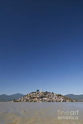Patzcuaro Photograph - Lake Patzcuaro by Gloria & Richard Maschmeyer - Printscapes