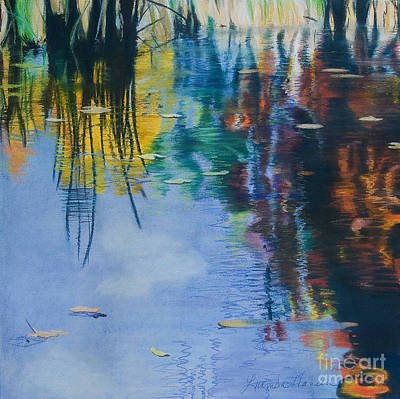 Painting - Lake Pearl Reflections by Lucinda  Hansen