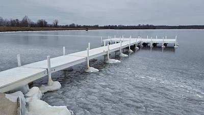 Photograph - Lake Pee Wee - Frozen by Greg Jackson