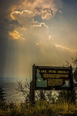 Photograph - Lake Pend Oreille by Albert Seger