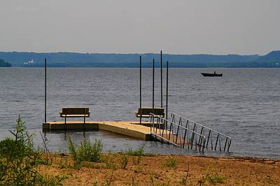 Photograph - Lake Pepin Beach by Kathryn Meyer