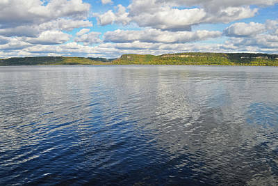 Photograph - Lake Pepin Mississippi River Minnesota by Kyle Hanson