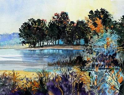 Painting - Lake Point by Robert W Cook
