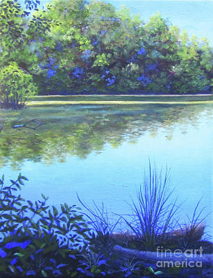 Painting - Lake Powatan by Anne Marie Brown