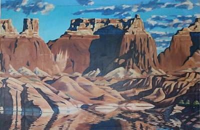 Painting - Lake Powell 2 by Allen Kerns