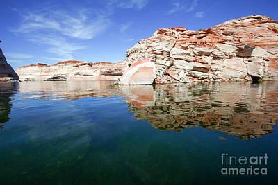 Blue Mesa Reservoir Photograph - Lake Powell And The Glen Canyon by Gal Eitan