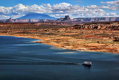 Photograph - Lake Powell - Navajo Mountain - Arizona by Nikolyn McDonald