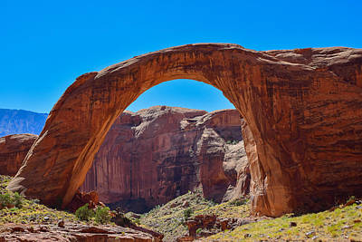 Clouds Royalty Free Images - Lake Powell - Rainbow Bridge Royalty-Free Image by Dany Lison
