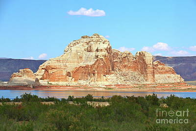 Photograph - Lake Powell Rockformation by Christiane Schulze Art And Photography