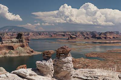 Photograph - Lake Powell Solitude by Sandra Bronstein