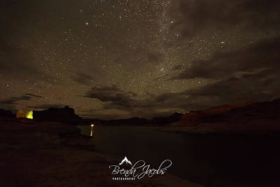 Photograph - Lake Powell Stars by Brenda Jacobs